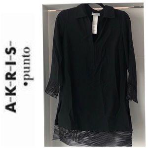 SALE 🎉 Akris Punto tunic top/dress size 8 black